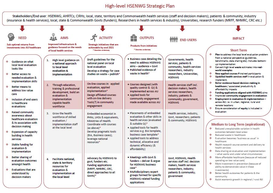 HSENWG Strategic Plan